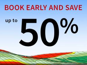 Book early and save up to 50%