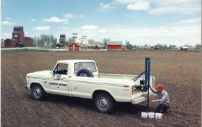 Felix schmaltz soil sampling