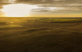 Autumn Sunrise Panoramic